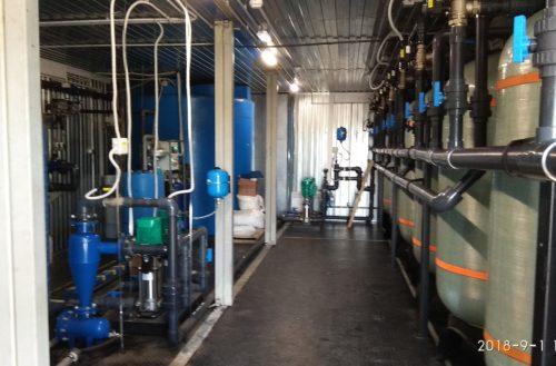 Водоподготовка воды хозяйственно-бытовых нужд комплекса