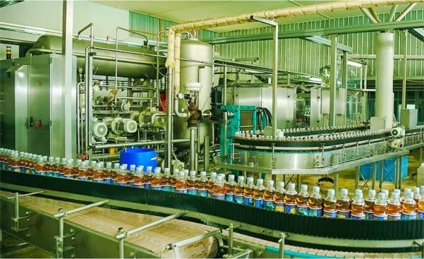 производства безалкогольных напитков